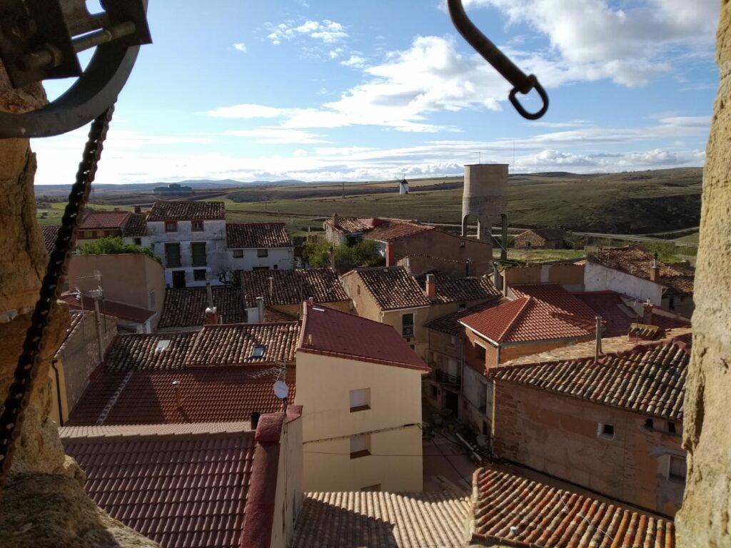 vista aerea de la comarca de malanquilla