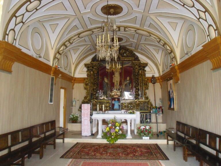 retablo de la ermita del santisimo cristo del humilladero de malanquilla