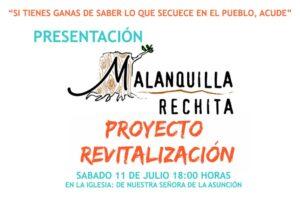 presentación de malanquilla rechita, un grupo de trabajo creado para la reavitalización de malanquilla