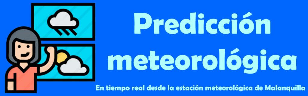 predicción meteorológica desde la estación de meteoclimatic de malanquilla