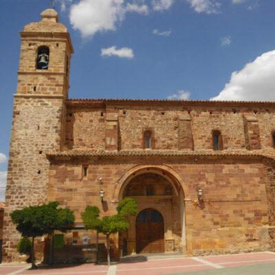 fotografía de la iglesia de nuestra señora de la asunción de malanquilla