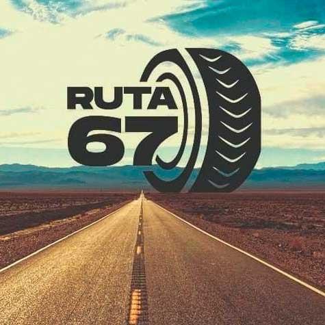 logotipo de la ruta 67 de calatatud