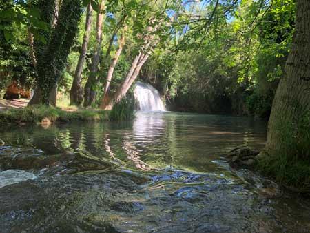 cascada de los chorros de Bijuesca