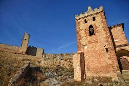 castillo de bijuesca y ermita de la virgen