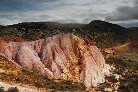 fotografía del derro de colores de bijuesca