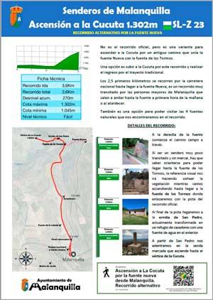 pdf informativo de la ruta alternativa a la cocuta pasando por la fuente nueva de malanquilla